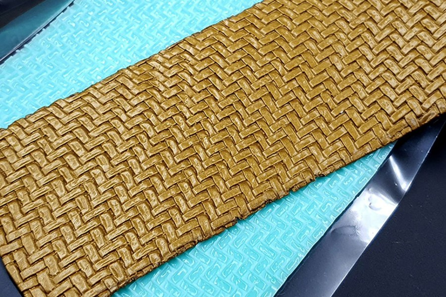 Weaving Grain Leather 2 - Silicone Texture, Small Size 1