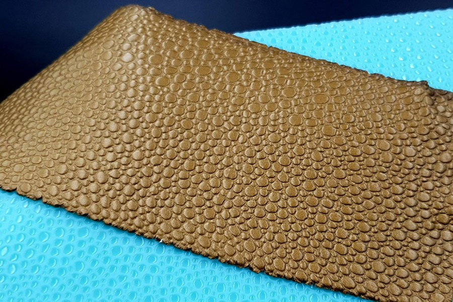 Water Drops Leather - Silicone Texture, Small Size 1