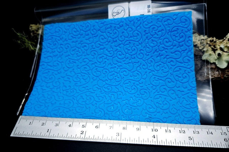 Floral - Silicone Texture, Small Size 8