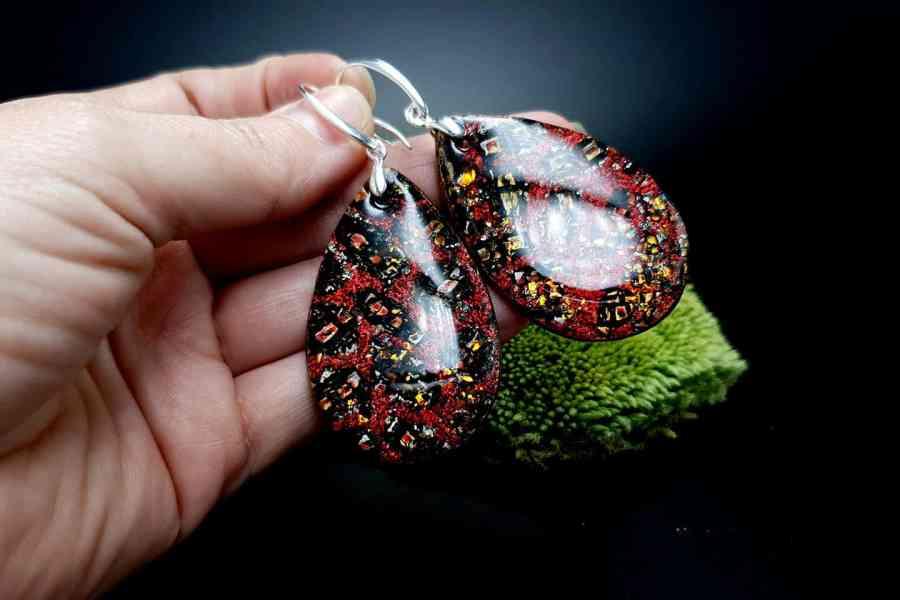 Earrings Christmas Confetti 3