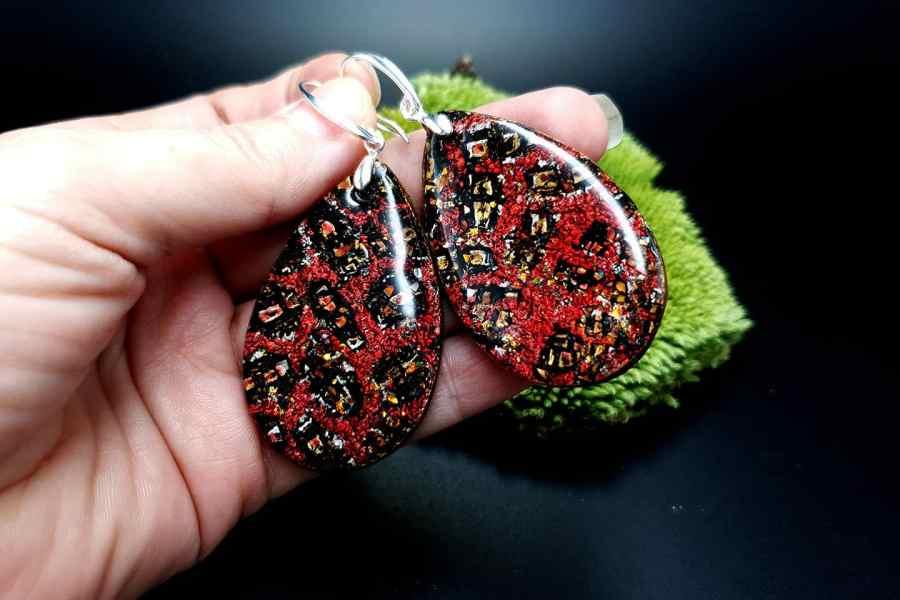 Earrings Christmas Confetti 1