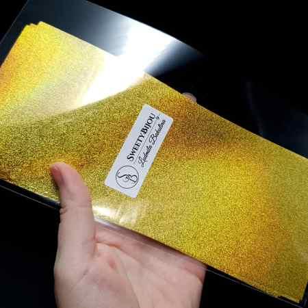 Gold Glimmering Sand (10 pcs)