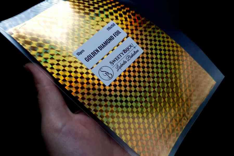 Golden Diamond Foil (10 pcs) 7
