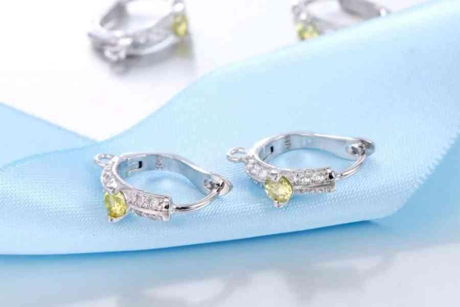 """Earrings Findings """"Elegant Drops"""" (1 pair) 3"""