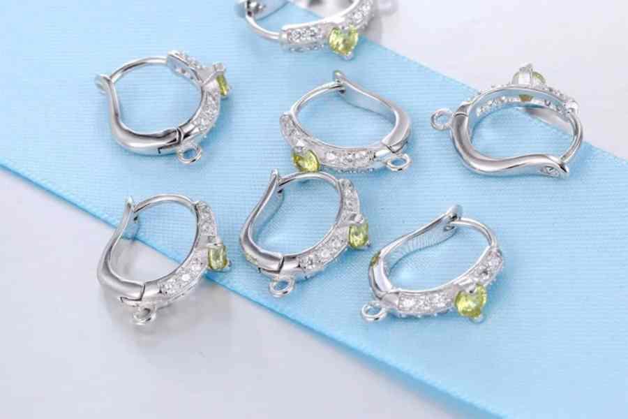 """Earrings Findings """"Elegant Drops"""" (1 pair) 4"""
