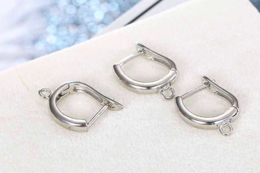 "Earrings Findings ""Elegant Style"" 2pcs 2"