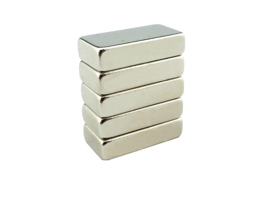 Set of 4 pcs Strong magnets for bracelet clasps (20x10x5mm) 9