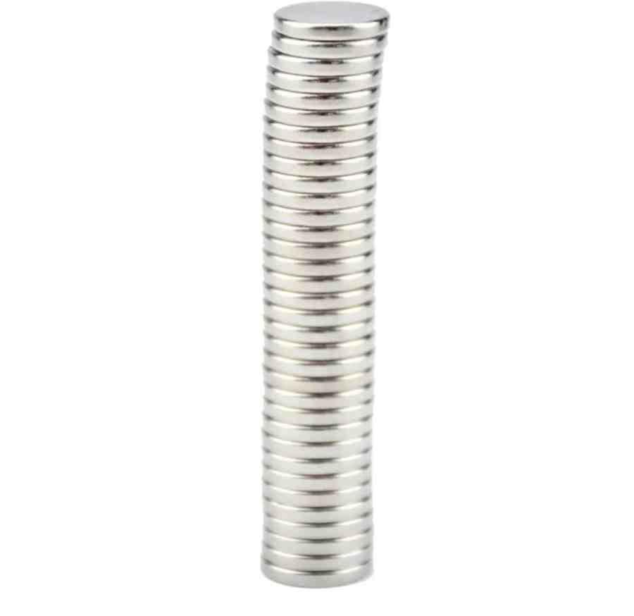 10 pcs (5 pairs) 12x1mm mini N52, neodymium magnets 3