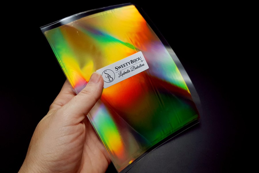 Ammolite Effect Foil (110x140mm, 15 pcs) 1