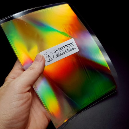 Ammolite Effect Foil (110x220mm, 10 pcs)