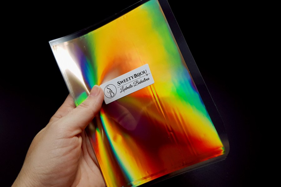 Ammolite Effect Foil (110x140mm, 15 pcs) 2