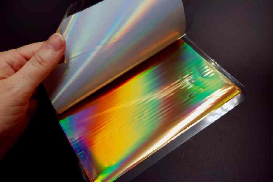 Ammolite Effect Foil (110x140mm, 15 pcs) 6
