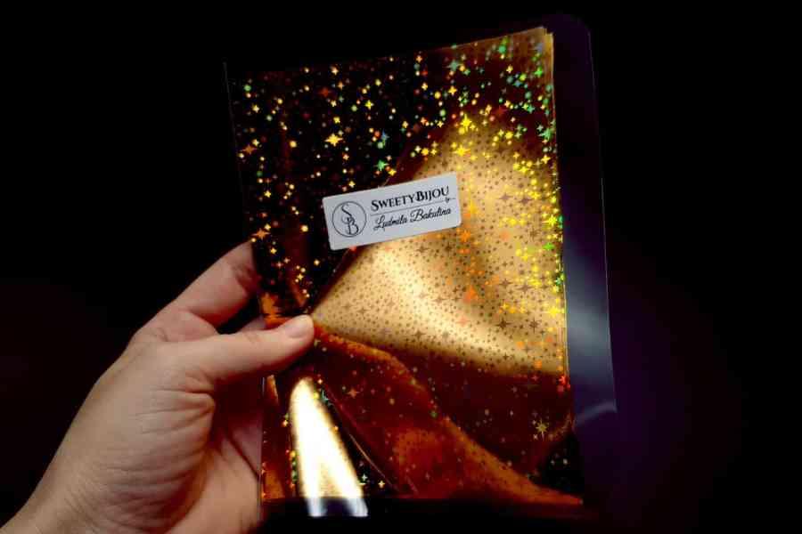 Gold Stars Foil (10 pcs) 3