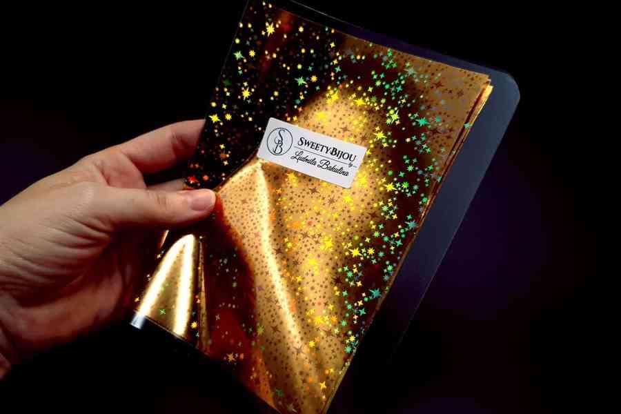 Gold Stars Foil (10 pcs) 4
