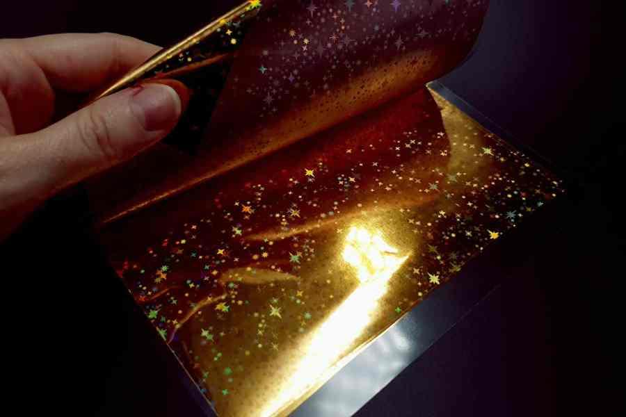 Gold Stars Foil (10 pcs) 7