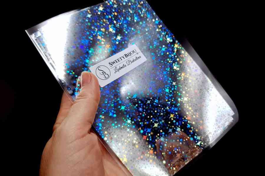 Silver Stars Foil (10 pcs) 1