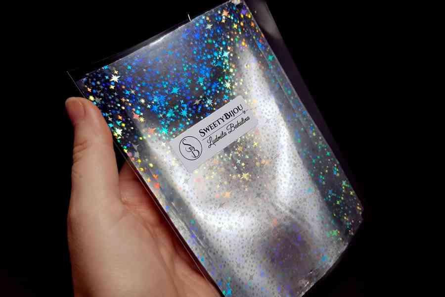 Silver Stars Foil (10 pcs) 4