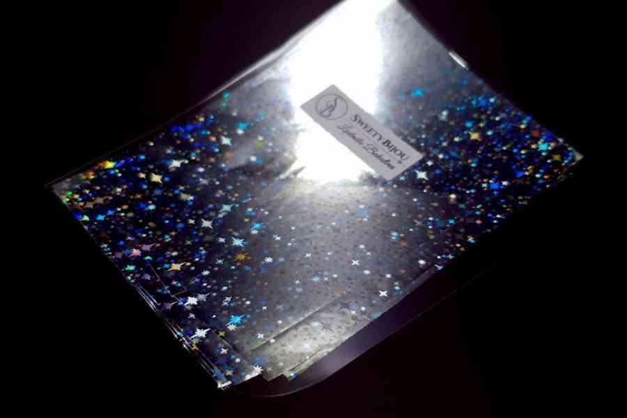 Silver Stars Foil (10 pcs) 6