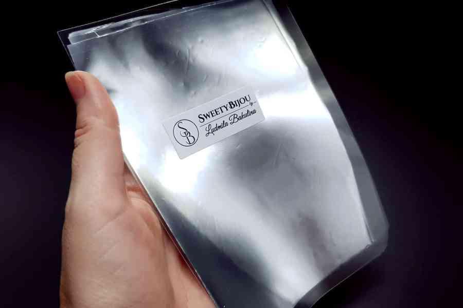 Plain Silver Foil (10 pcs) 1