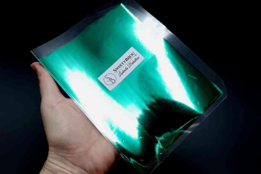 Emerald Green Foil (10 pcs) 2
