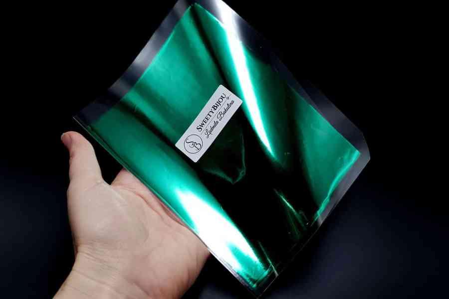Emerald Green Foil (10 pcs) 4