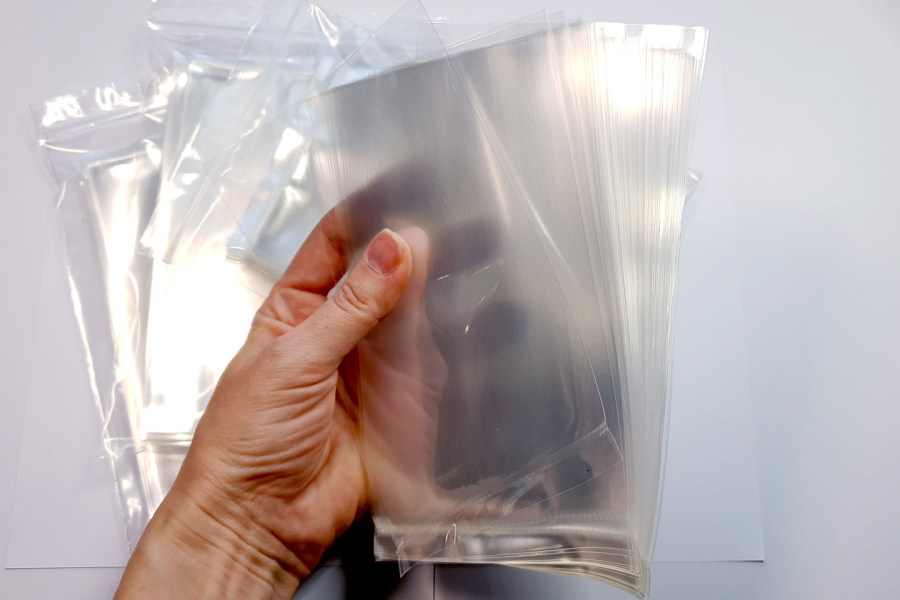 Thick OPP Plastic Bags 4x6 (50 pcs) 16