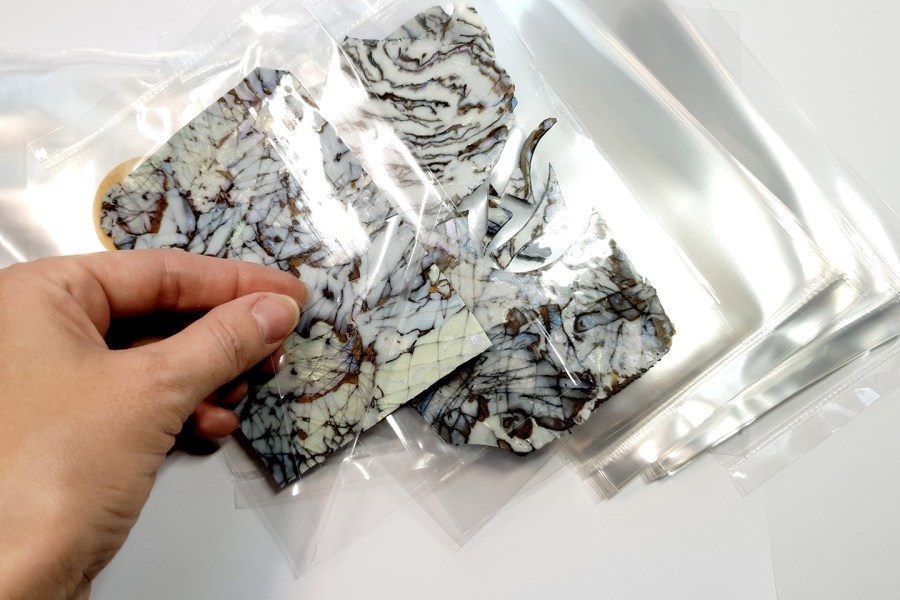 Thick OPP Plastic Bags 4x6 (50 pcs) 4