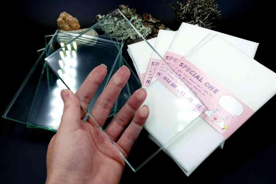 Glass Tile - Size 10x15cm 12