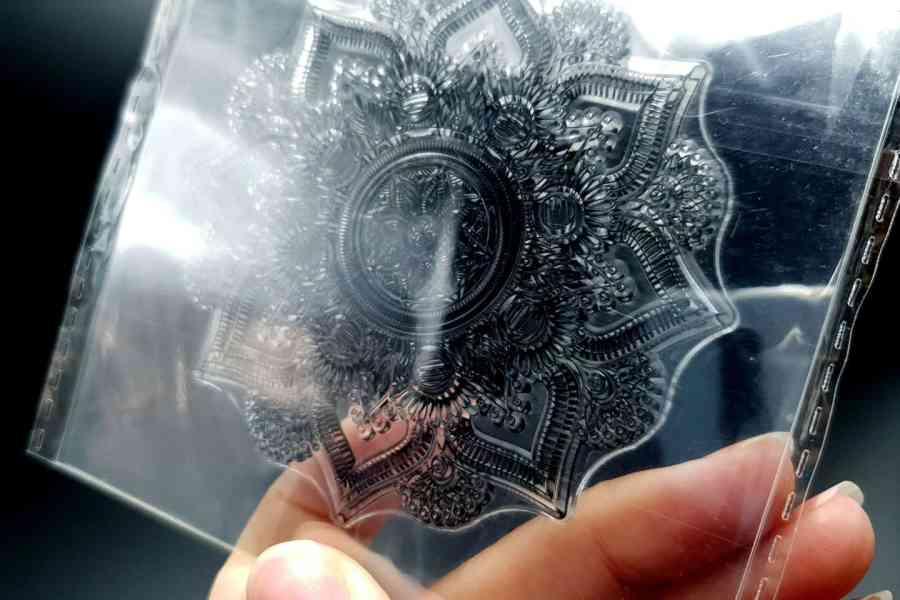 Mandala - Silicone Stamp 3