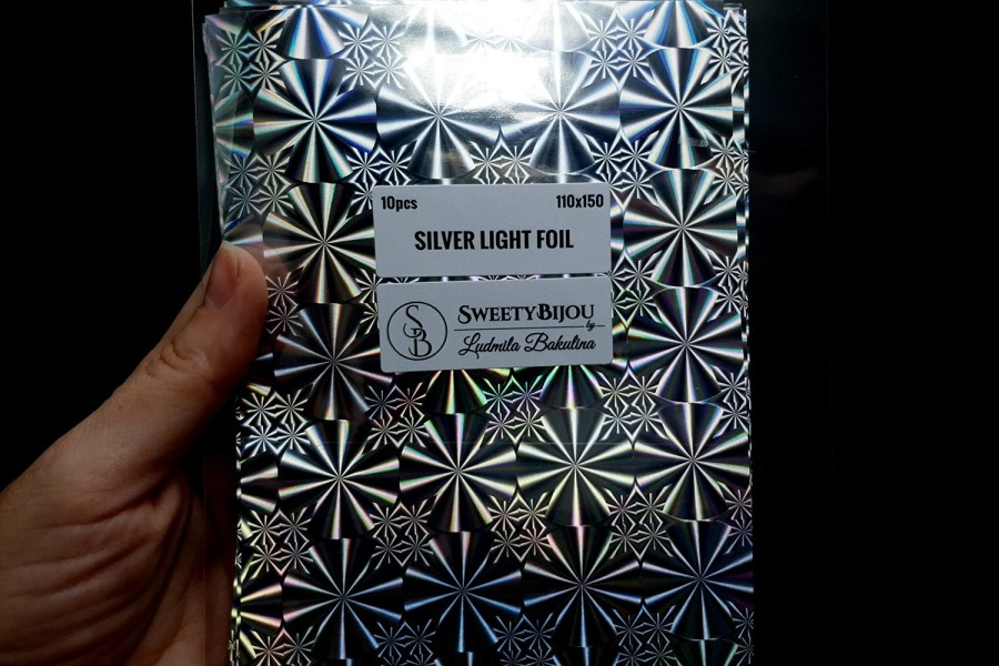 Silver Light Foil (10 pcs) 3