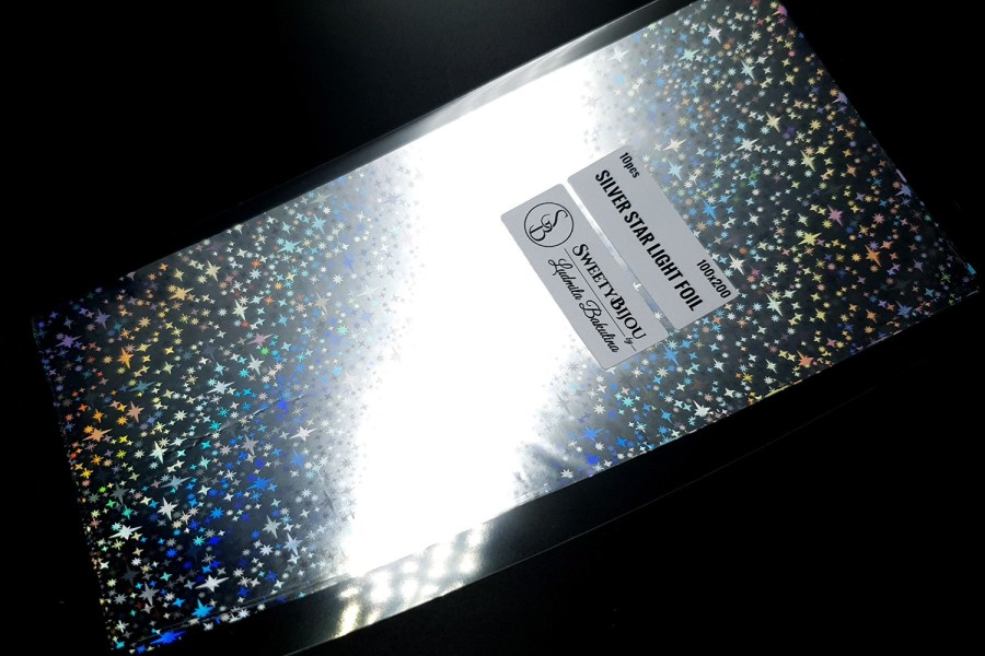 Silver Star Light Foil (10 pcs) 1