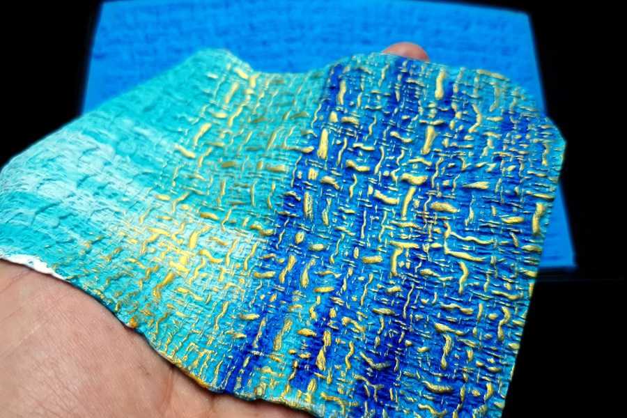 Woven Cloth Silicone Texture 6