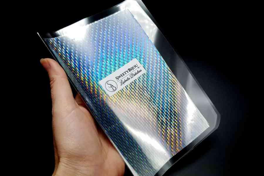 Rainbow Rain Foils (10 pcs) -80x160mm 3