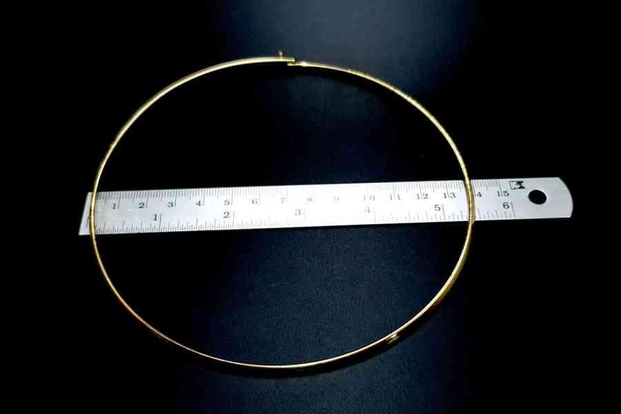 Metal Base Golden Necklace 6