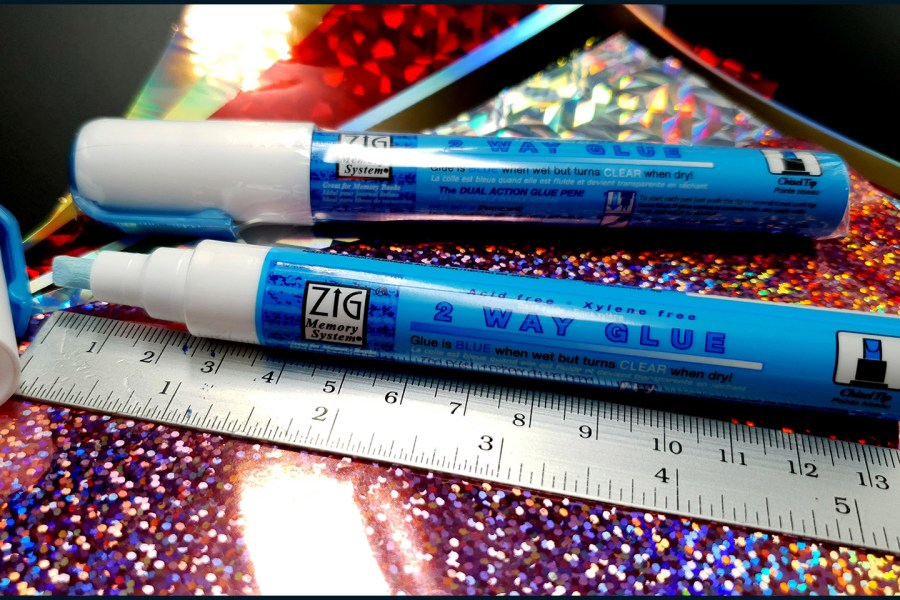 2 Way Adhesive Glue Marker - Chisel 6