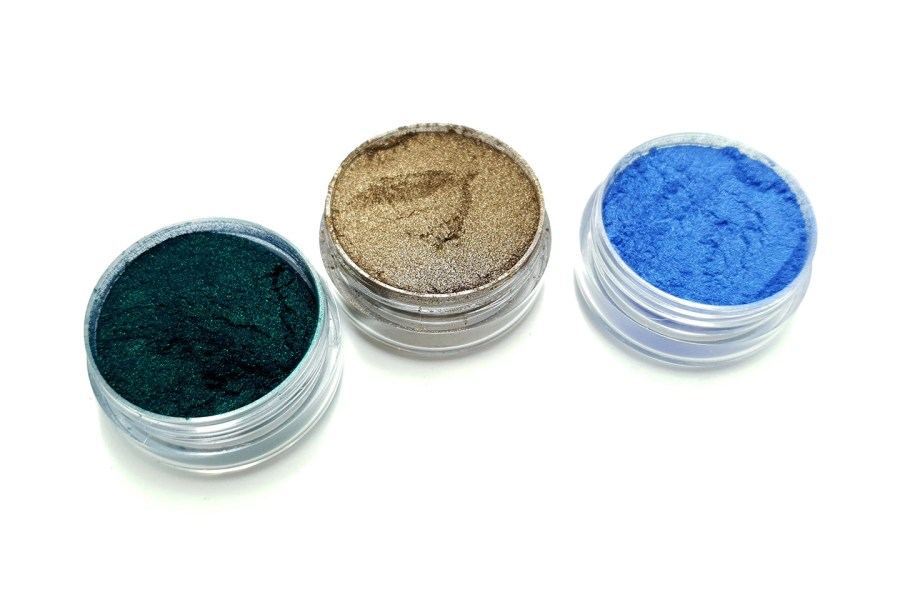The Nature - Set of 3 Pigment powders 2