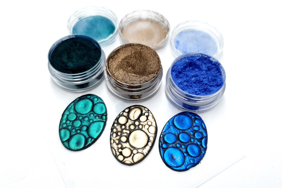 The Nature - Set of 3 Pigment powders 10