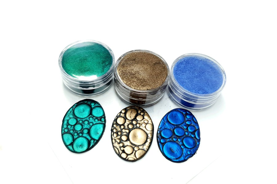 The Nature - Set of 3 Pigment powders 12