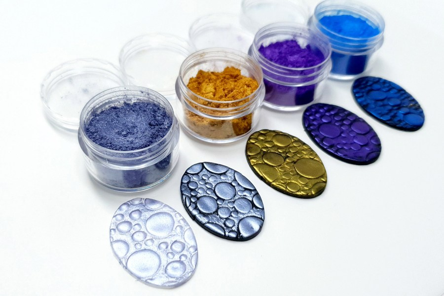 Ocean Sunset - Set of 4 Pigment powders 5