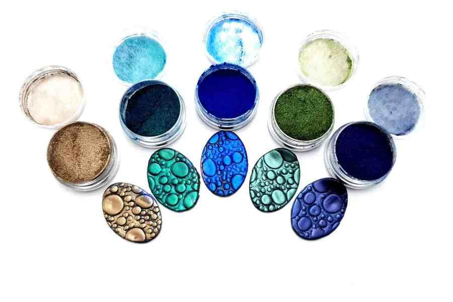 Magic Nature - Set of 5 Pigment powders 5