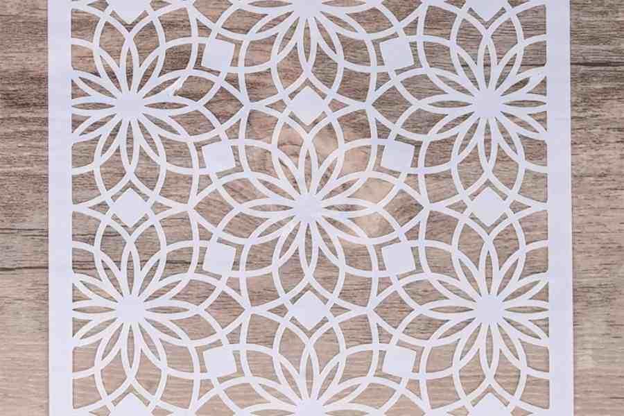 Morrocan Pattern Flowers 2 (13x13cm) 4