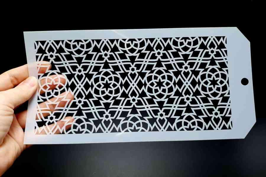 Set of 3 Magic Patterns (12x24cm) 5