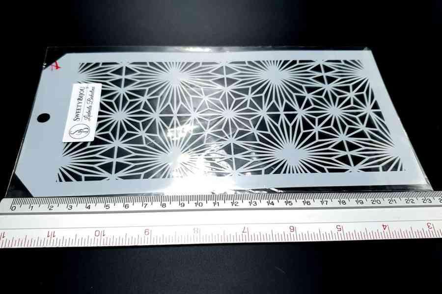 The Stars Pattern (12x24cm) 3