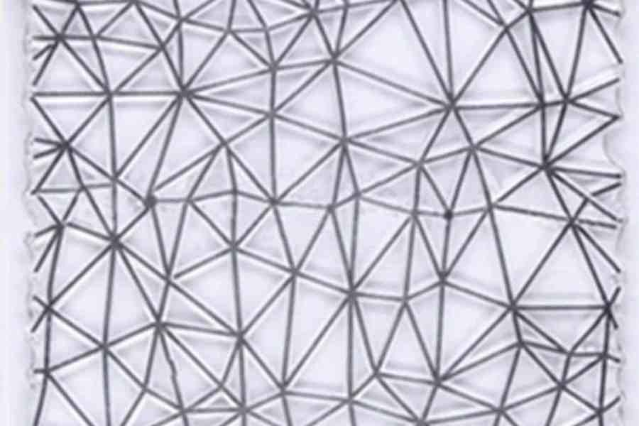 Triangle Pattern (10x10cm) 7