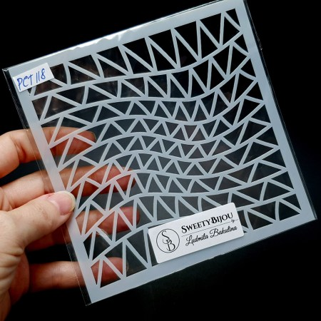 Triangles and Lines 2 (13x13cm)