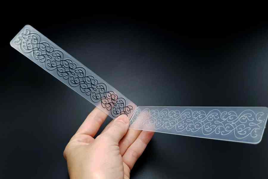 Filigree (15x3) -  Plastic Texture 4