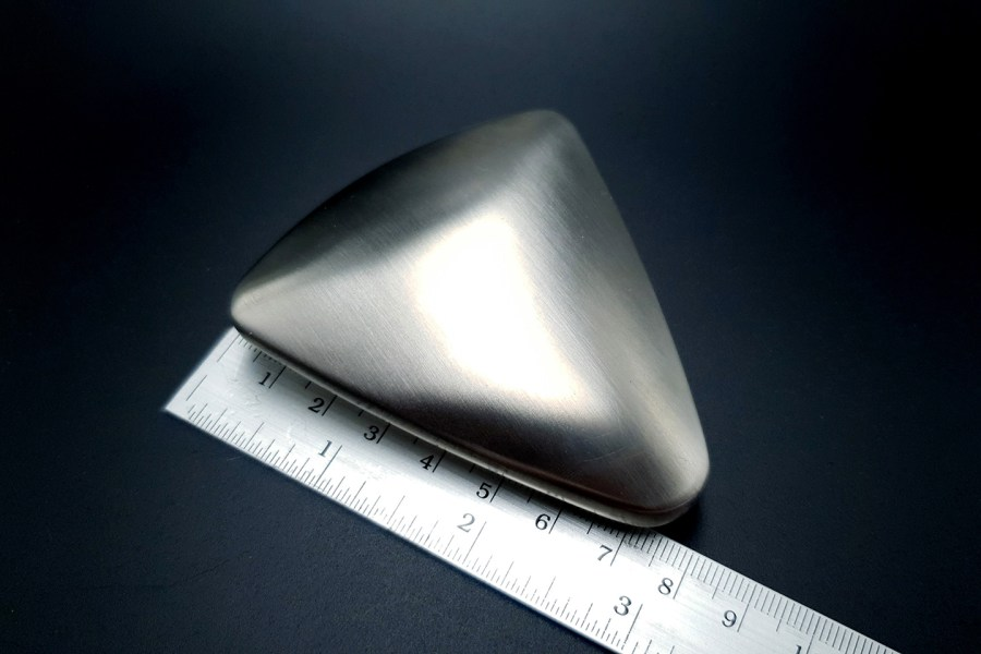 Large Triangle Domed Stainless Steel Shape Base 5