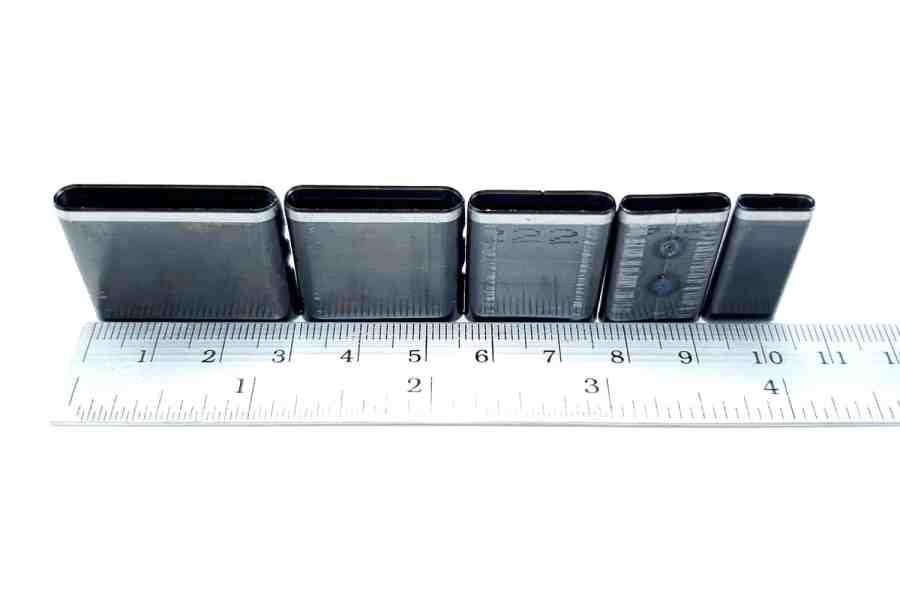 Sharp Cutters Long Oval shape, 5pcs 7