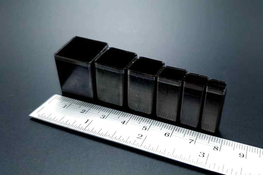 Sharp Cutters Square shape, 6pcs 2