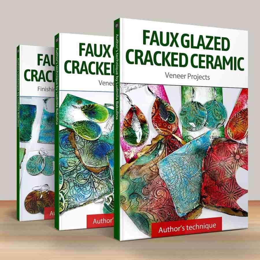 Faux Glazed Cracked Ceramic 1